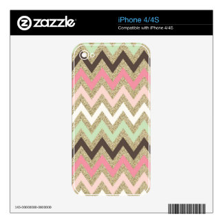 Chevron iPhone Skin Decal For iPhone 4