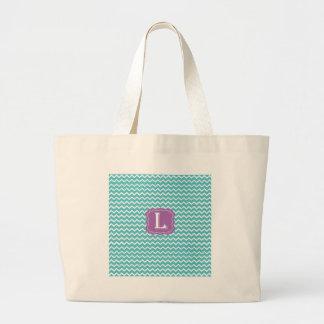 Chevron L Jumbo Tote Bag