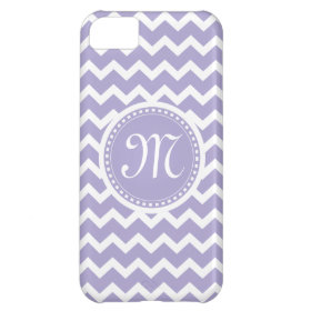 Chevron Monogram Retro Purple and White iPhone 5C Covers