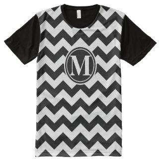 Chevron Monogrammed All-Over Print Shirt