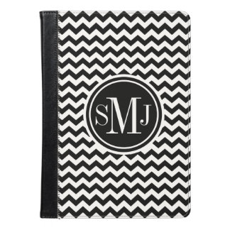 Chevron Monogrammed iPad Air Case