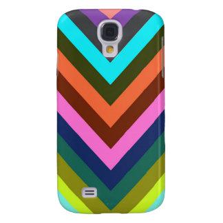Chevron Multi Color Galaxy S4 Case