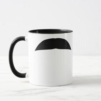 Chevron Mustache Mug
