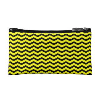 Chevron negro/amarillo adaptable