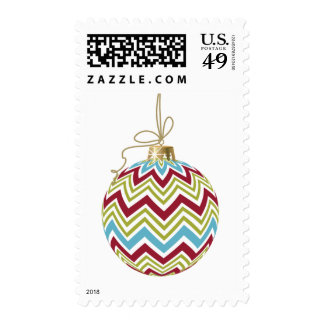 Chevron Ornament Postage
