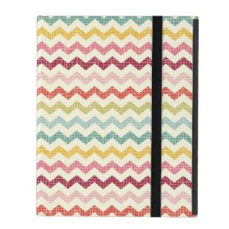 Chevron Pattern 4 iPad Folio Case