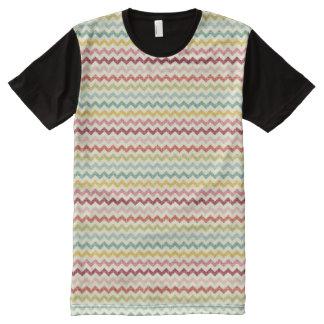 Chevron Pattern 4 All-Over Print T-shirt