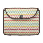 Chevron Pattern 4 MacBook Pro Sleeves