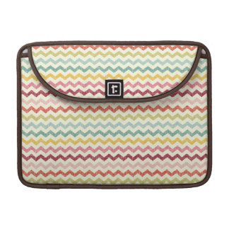Chevron Pattern 4 Sleeve For MacBook Pro
