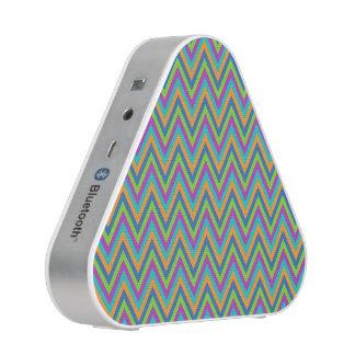Chevron Pattern custom Bluetooth speaker