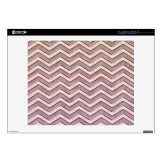 Chevron Pattern Decal For Laptop