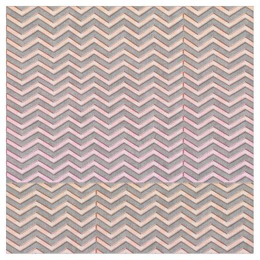 Chevron Pattern Fabric | Zazzle