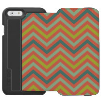 Chevron Pattern iPhone 6/6s Wallet Case