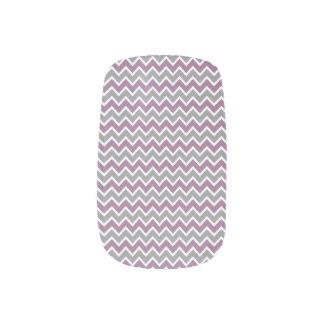 Chevron Pattern Minx grey/purple) Minx® Nail Art