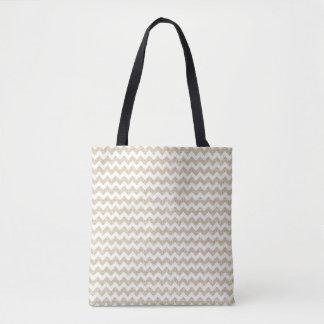 Chevron Pattern Tote Bag