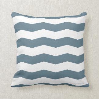 Chevron Pillow in Stormy/White Pillows