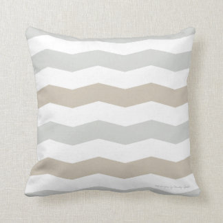 Chevron Pillow in Weathered/Sand Multi