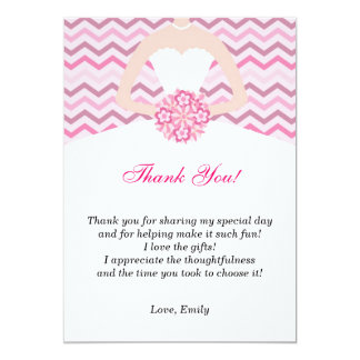 Bridal Shower Thank You Invitations & Announcements | Zazzle