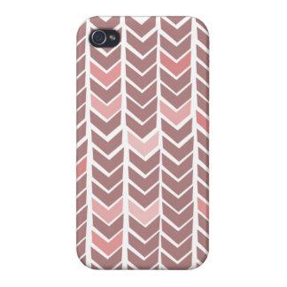 Chevron Pink iPhone Case iPhone 4 Case