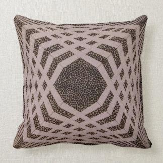 chevron pyramid throw pillow