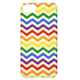 Chevron Rainbow Cover For iPhone 5C