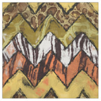 Chevron Safari Fabric