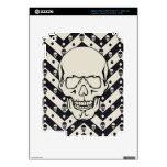 Chevron skull pattern iPad 3 skins