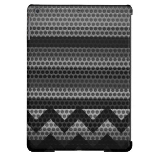 Chevron Stainless Steel Hole Metal 2 iPad Air Covers