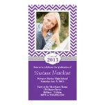 Chevron Stripe Graduation Invitation Class of 2013 Photo Cards