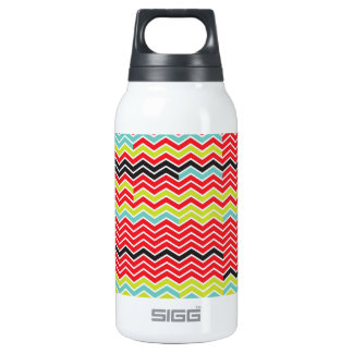 Chevron Surprise Insulated Water Bottle