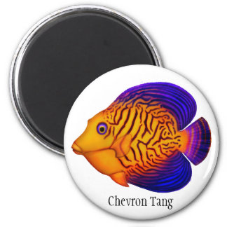 Chevron Tang Reef Fish Customizable Magnet