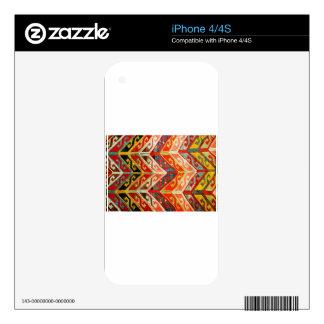 Chevron Textile iPhone 4S Skins