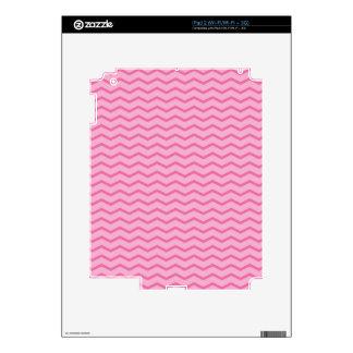 Chevron Think Pink Pattern PT68 iPad 2 Skin
