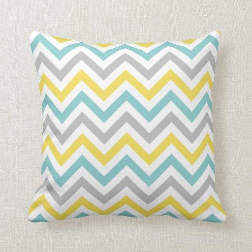 Grey Chevron Throw Pillow : Chevron Pillows, Chevron Throw Pillows