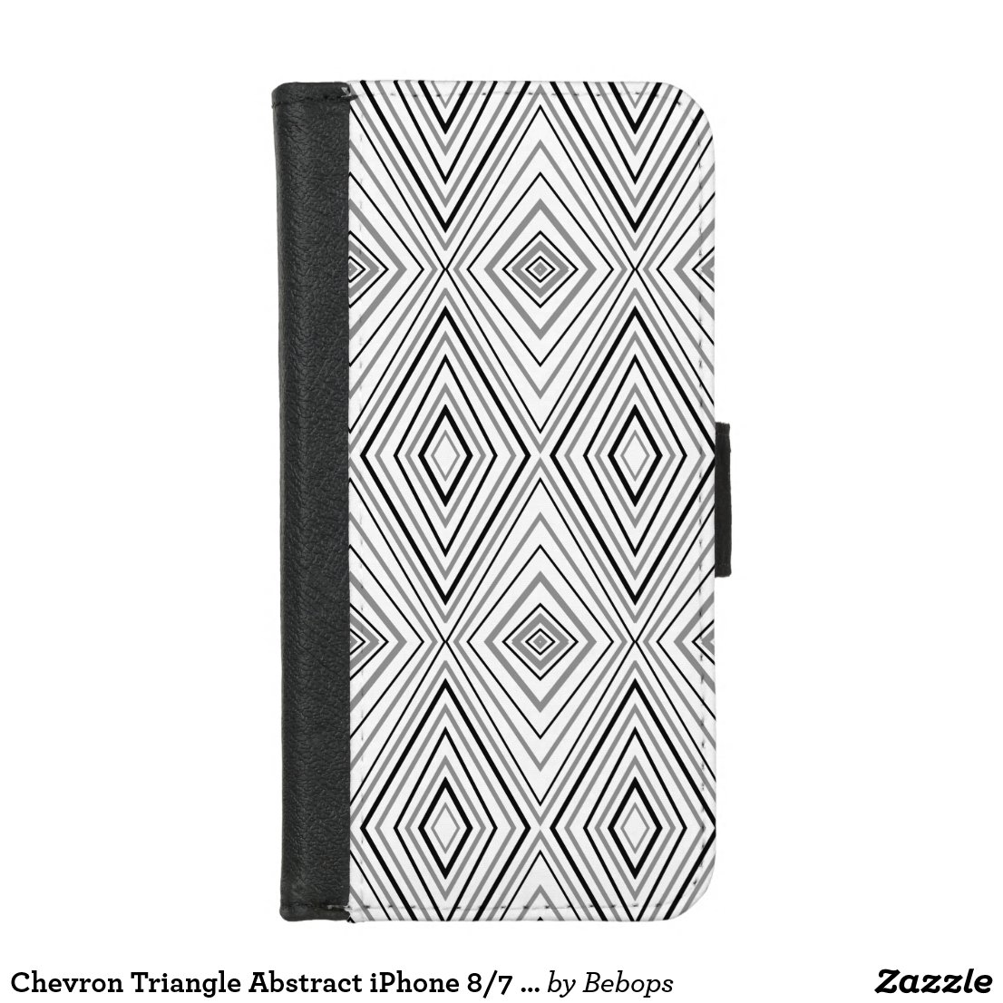 Chevron Triangle Abstract iPhone 8/7 Wallet Case