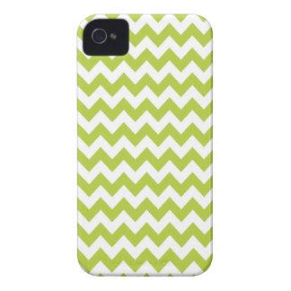 Chevron verde chartreuse Iphone 4 o caso 4S Carcasa Para iPhone 4