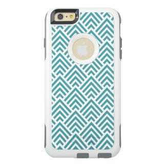Chevron verde y blanco fresco funda otterbox para iPhone 6/6s plus