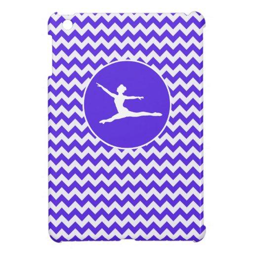 Chevron violeta azul; Ballet