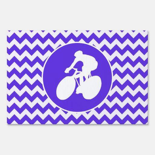 Chevron violeta azul; Ciclo