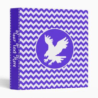 Chevron violeta azul; Eagle