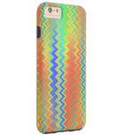 Chevron Waves Tough iPhone 6 Plus Case