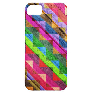 Chevron Wood Abstract iPhone SE/5/5s Case