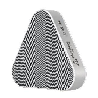 Chevron Zig Zag Pattern Custom Pieladium Speaker