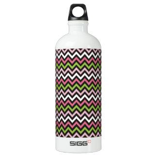Chevron Zig Zag Pattern Water Bottle