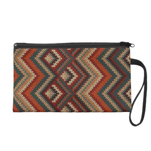 Chevron Zig Zag Knitting Pattern : Chevron zig zag stripes knitting pattern wristlet zazzle
