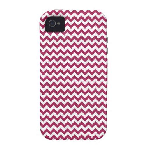 Chevron - zigzag - caso del iPhone iPhone 4 Funda