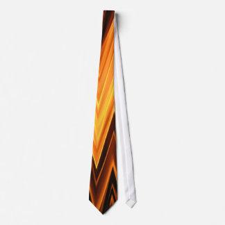 Chevron/Zigzag Fire Cool Unique Bro Man Pattern Tie
