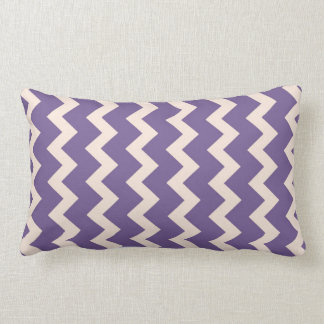 Chevron zigzag natural pale pink bright purple throw pillow