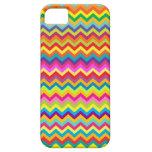 Chevron zigzag pattern multi-colored iphone case