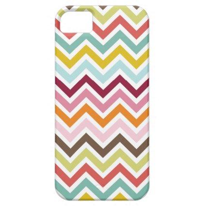 Chevron Zigzag Stripes iPhone 5 Cases